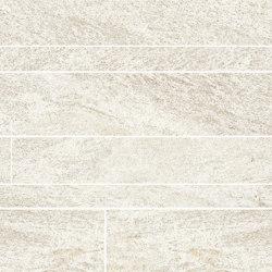 Anthology Stone Mosaico Listelli Sfalsati Ivory | Mosaicos de cerámica | EMILGROUP