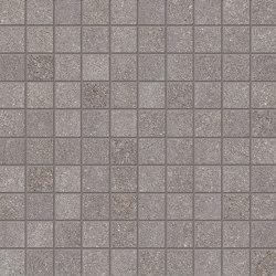 Dotcom Mosaico 3x3 Mud | Ceramic mosaics | EMILGROUP