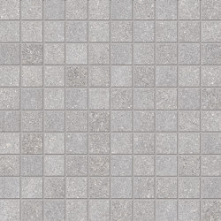Dotcom Mosaico 3x3 Grey | Ceramic mosaics | EMILGROUP