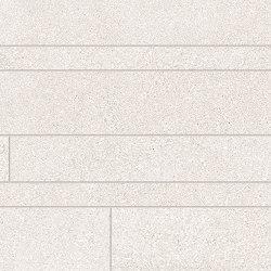 Dotcom Listelli Sfalsati White | Ceramic mosaics | EMILGROUP