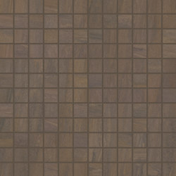 Elegance Mosaico Square Mix Brown | Ceramic mosaics | EMILGROUP