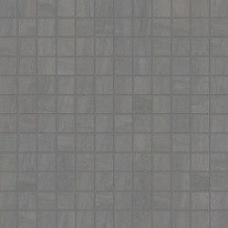 Elegance Mosaico Square Mix Grey | Ceramic mosaics | EMILGROUP