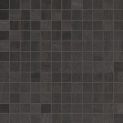 Elegance Mosaico Square Mix Antracite | Ceramic mosaics | EMILGROUP
