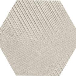 Eureka Decoro Tartan Esagona Sabbia | Ceramic tiles | EMILGROUP