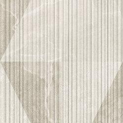 Eureka Decoro Intarsio 3D Bianco/Sabbia | Keramik Fliesen | EMILGROUP