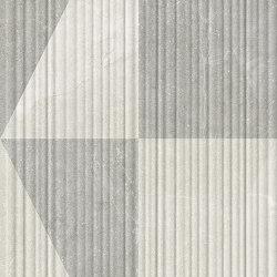 Eureka Decoro Intarsio 3D Bianco/Grigio   Ceramic tiles   EMILGROUP