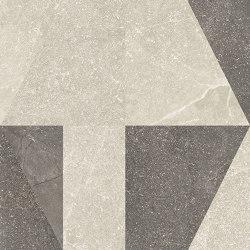 Eureka Decoro Intarsio Sabbia/Moka | Baldosas de cerámica | EMILGROUP