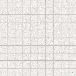 Grainstone Mosaico 3x3 White | Ceramic mosaics | EMILGROUP
