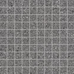Grainstone Mosaico 3x3 Dark | Keramik Mosaike | EMILGROUP