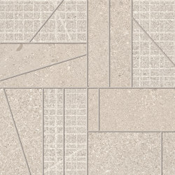 Grainstone Mosaico Big Mix Sand | Keramik Mosaike | EMILGROUP