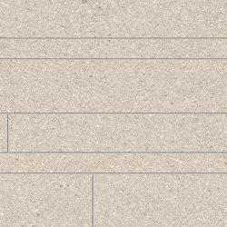 Grainstone Listelli Sfalsati Sand | Ceramic mosaics | EMILGROUP