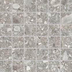 Lombarda Mosaico 5x5 Grigio | Keramik Mosaike | EMILGROUP