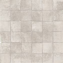 Petra Mosaico 5x5 Grey | Ceramic mosaics | EMILGROUP