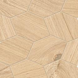 Provoak Decoro Turtle Rovere Puro | Ceramic mosaics | EMILGROUP