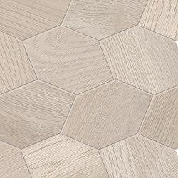 Provoak Decoro Turtle Bianco Sabbiato | Ceramic mosaics | EMILGROUP