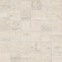 Re-Use Mosaico Calce White | Ceramic mosaics | EMILGROUP