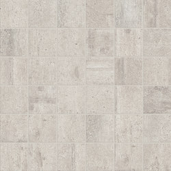 Re-Use Mosaico Fango White | Ceramic mosaics | EMILGROUP