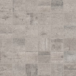 Re-Use Mosaico Malta Grey | Ceramic mosaics | EMILGROUP