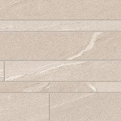 Listelli Sfalsati Martellata Sand | Ceramic mosaics | EMILGROUP