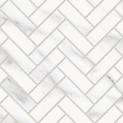 Tele di Marmo Decoro Trama Statuario Michelangelo | Ceramic mosaics | EMILGROUP