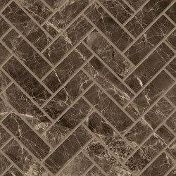 Tele di Marmo Decoro Trama Frappuccino Pollok | Ceramic mosaics | EMILGROUP