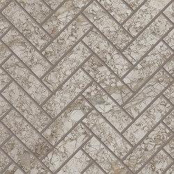 Tele di Marmo Decoro Trama Breccia Braque | Ceramic mosaics | EMILGROUP