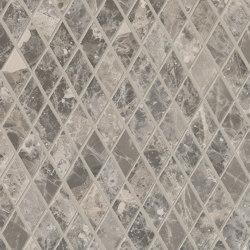 Tele di Marmo Decoro Losanghe XS Breccia Braque | Ceramic mosaics | EMILGROUP
