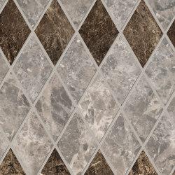 Tele di Marmo Decoro Losanghe XL Breccia Braque | Ceramic mosaics | EMILGROUP