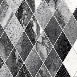 Tele di Marmo Decoro Losanghe XL Calacatta Renoir | Ceramic mosaics | EMILGROUP