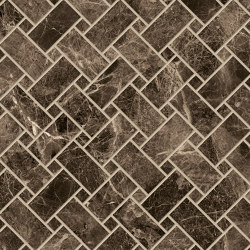Tele di Marmo Decoro Intrecci Frappuccino Pollok | Ceramic mosaics | EMILGROUP