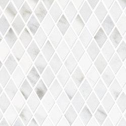 Tele di Marmo Mosaico 3x3 Statuario Michelangelo | Ceramic mosaics | EMILGROUP