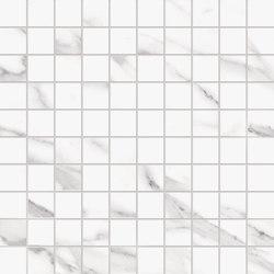 Tele di Marmo Mosaico 3x3 Statuario Michelangelo | Mosaïques céramique | EMILGROUP