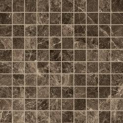 Tele di Marmo Mosaico 3x3 Frappuccino Pollock | Ceramic mosaics | EMILGROUP