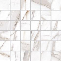 Tele di Marmo Reloaded Mosaico CALACATTA GOLD CANOVA 5X5 | Ceramic mosaics | EMILGROUP