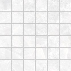 Tele di Marmo Revolution Decori Thassos Mosaico 5x5 | Ceramic mosaics | EMILGROUP