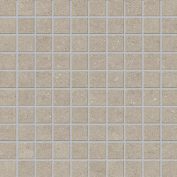Vulcanika Mosaico 3x3 Sand | Mosaicos de cerámica | EMILGROUP