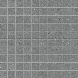 Vulcanika Mosaico 3x3 Grey | Ceramic mosaics | EMILGROUP