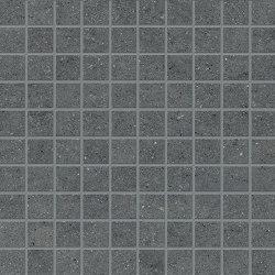 Vulcanika Mosaico 3x3 Black   Ceramic mosaics   EMILGROUP