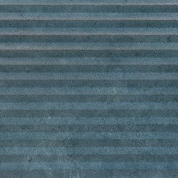 Vulcanika Raku Kaptur Blu | Piastrelle ceramica | EMILGROUP