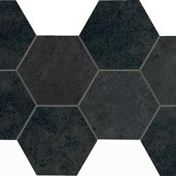 Vulcanika Raku Link Nero | Piastrelle ceramica | EMILGROUP