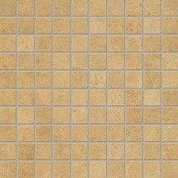 Vulcanika Raku Mosaico 3x3 Ocra | Keramik Mosaike | EMILGROUP