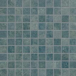 Vulcanika Raku Mosaico 3x3 Verde | Keramik Mosaike | EMILGROUP