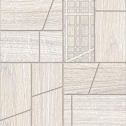 Woodtouch Cage Box Sbiancato | Ceramic mosaics | EMILGROUP