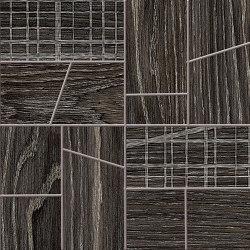 Woodtouch Cage Box Wengè | Ceramic mosaics | EMILGROUP