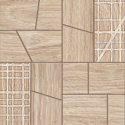 Woodtouch Cage Box Miele   Ceramic mosaics   EMILGROUP