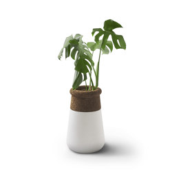 Soma Table Top L Mixed Materials | Plant pots | Indigenus