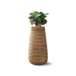 Tuber Large Wood | Plant pots | Indigenus