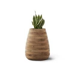 Tuber Medium Wood | Plant pots | Indigenus