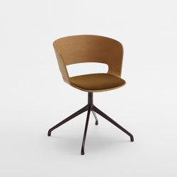 Ribbon Swivel Armchair B.35.0   Chairs   Cantarutti