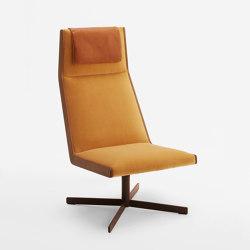 Stilo Swivel Lounge E.30.A | Armchairs | Cantarutti